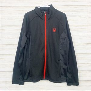 Spyder   NWT Men's Outbound Full Zip Core Mid Weight Sweater Jacket